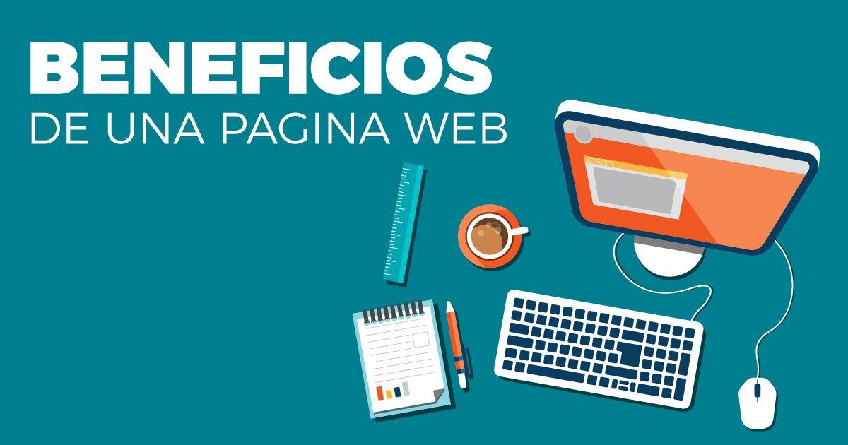 beneficios de tener una pagina web